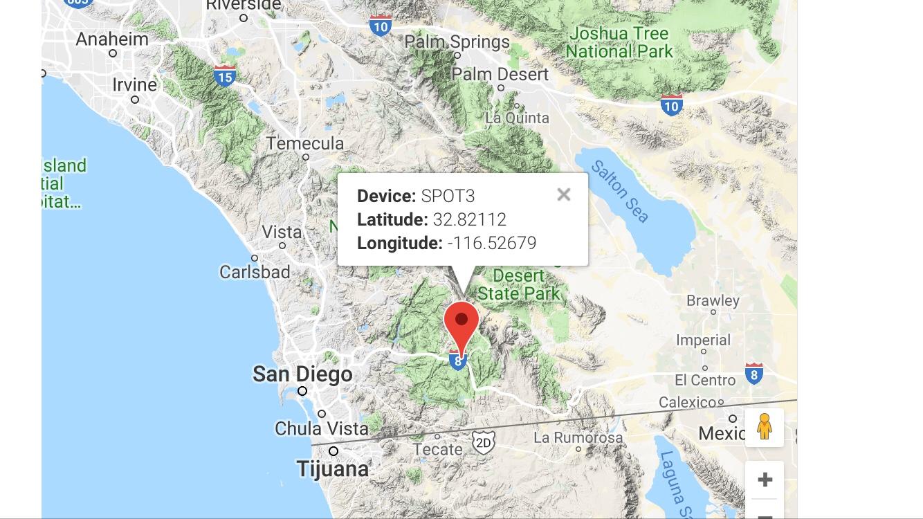 San Diego to Pine Valley - Skibikerun